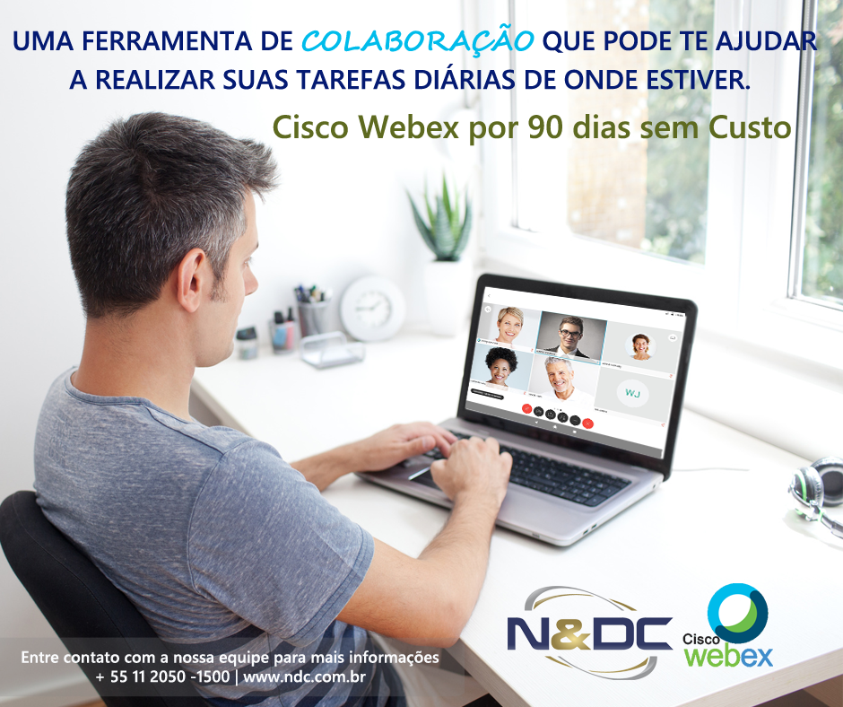 Cisco Webex sem custo